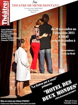 Affiche L'Hotel des 2 Mondes